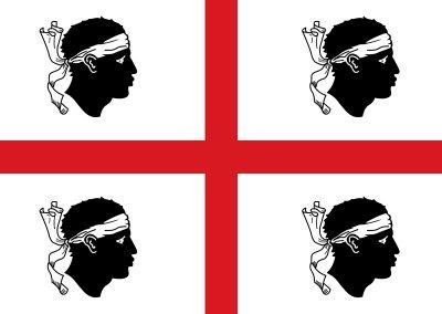 Flaga Sardynii